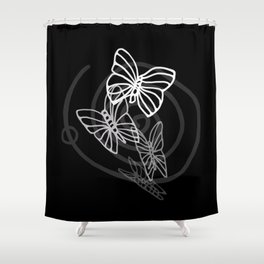 Consequences Shower Curtain