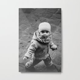Innocent Girl Metal Print