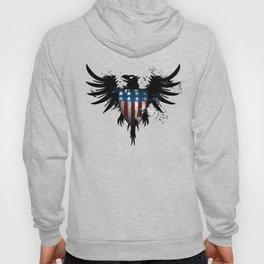Grunge Eagle Hoody