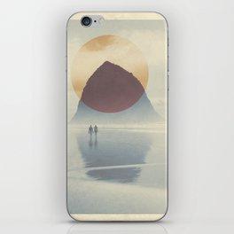 Haystack Rock of Cannon Beach, Oregon iPhone Skin