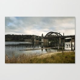 Siuslaw River Bridge Canvas Print