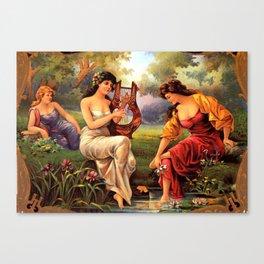 Vitage Radiana Canvas Print