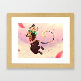 .: Light on The Toes:. Framed Art Print