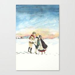 Reunion Canvas Print