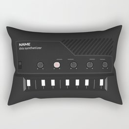 Analog Synth (Monotron) Rectangular Pillow