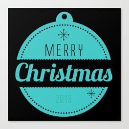 Christmas collection - Merry Christmas 2013 Canvas Print