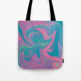 Acid marble dream Tote Bag