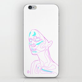Face Topography 1.0 iPhone Skin