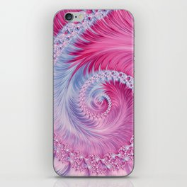 Crystal Spiral Abstract iPhone Skin