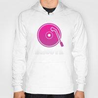 vinyl Hoodies featuring Vinyl by Billy Tester