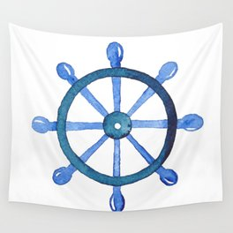 Navigating the seas Wall Tapestry