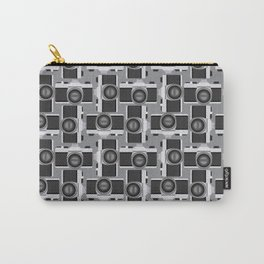 35mm Camera Pattern Carry-All Pouch
