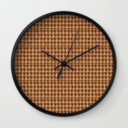 Loads of eyes pattern Wall Clock