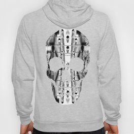 Skirting the Oblivion Fence in Black and White Hoody
