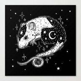 the Witch's Companion Canvas Print