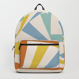 Spinning Squares Palette II Backpack