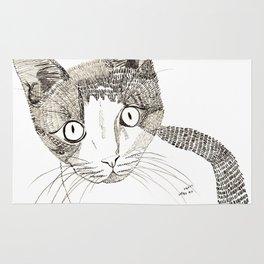 Humphrey the cat Rug