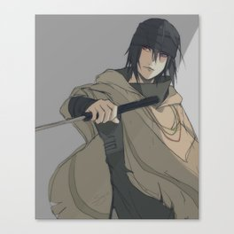 Sasuke: The Last Canvas Print