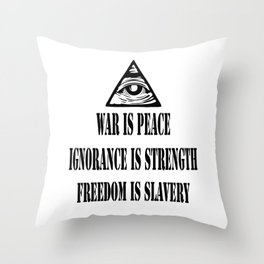1984 Big Brother Throw Pillow