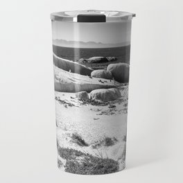 Penguin colony on Boulders Beach - Cape Town, South Africa Travel Mug