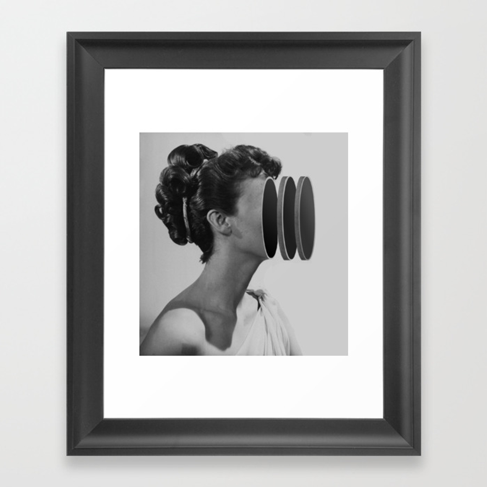 One Touch Of Venus (2011) Framed Art Print by Matthieubordel FRM2929255