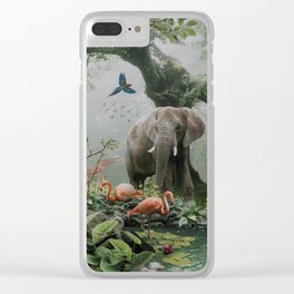 Project Paradise Clear iPhone Case