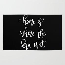 Home Is Where the Bra Isn't Rug