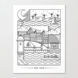 San Juan Canvas Print
