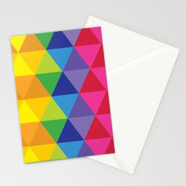 Rainbow Cosmic Universe Stationery Cards