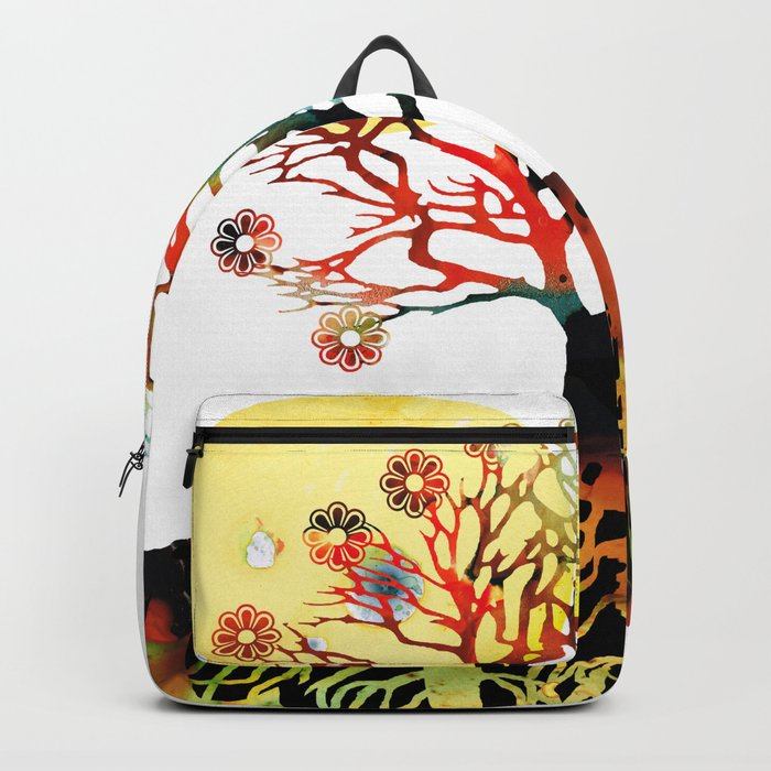Spiritual Art - Tree Of Life Backpack