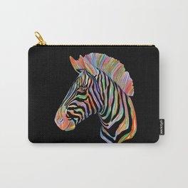 Fantasy Zebra Carry-All Pouch