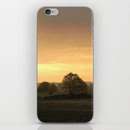 Sunrise in August iPhone Skin