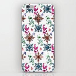 Aquarium pattern iPhone Skin