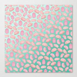 Squishy Tardigrades Canvas Print