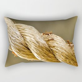 Leaf Cutter Ants Rectangular Pillow
