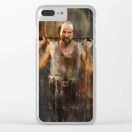 Czernobog Clear iPhone Case