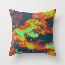 DAY LIGHT AND BAD DREAMS IN A COOL WORLD FULL OF CRUEL THINGS Throw Pillow