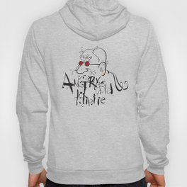 Angry Old Hippie (Original) Hoody