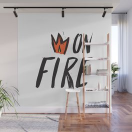On Fire! Wall Mural
