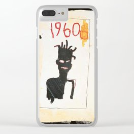 1960 basquiat Clear iPhone Case