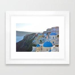 Blue Tops Framed Art Print