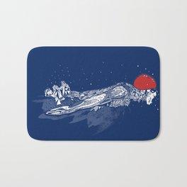 Olympic Swimmer  Bath Mat