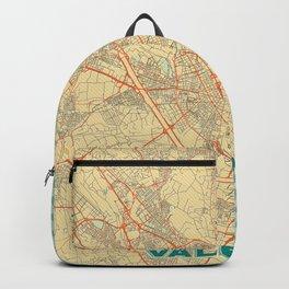 Valencia Map Retro Backpack