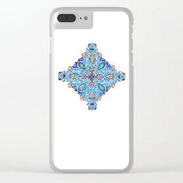 Mandala 7 Clear iPhone Case