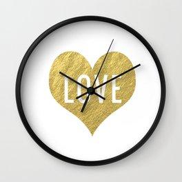 L-O-V-E Wall Clock