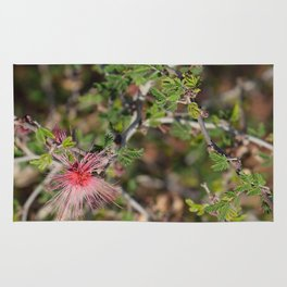 Desert Wildflower Bush Rug