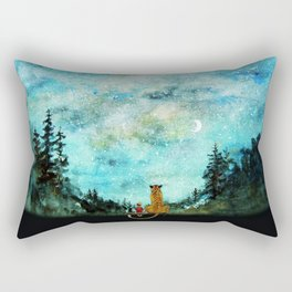 Calvin And Hobbes Rectangular Pillow