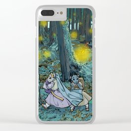 The Mouse Queen's Bargain Clear iPhone Case