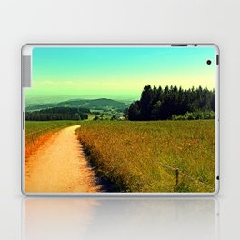 Hiking on a hot afternoon Laptop & iPad Skin