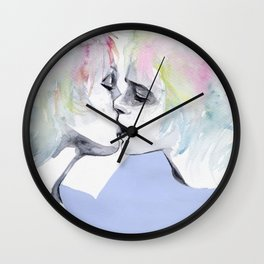 lonely boy, lonely girl Wall Clock